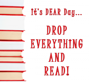 Don't Forget to Drop Everything and Read (DEAR) Today!   Red Apple Reading Express