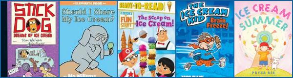 Yummy Ice Cream Books - Red Apple Reading