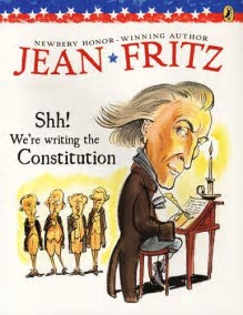 shh were writing the constitution book report I'm not saying everyone should learn about the writing of the united states constitution through this book shh we're writing the constitution - report an.