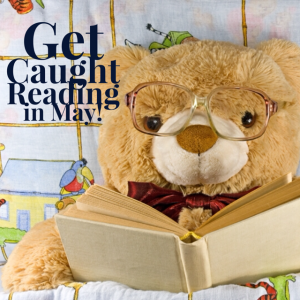 Get Caught Reading in May - Red Apple Reading