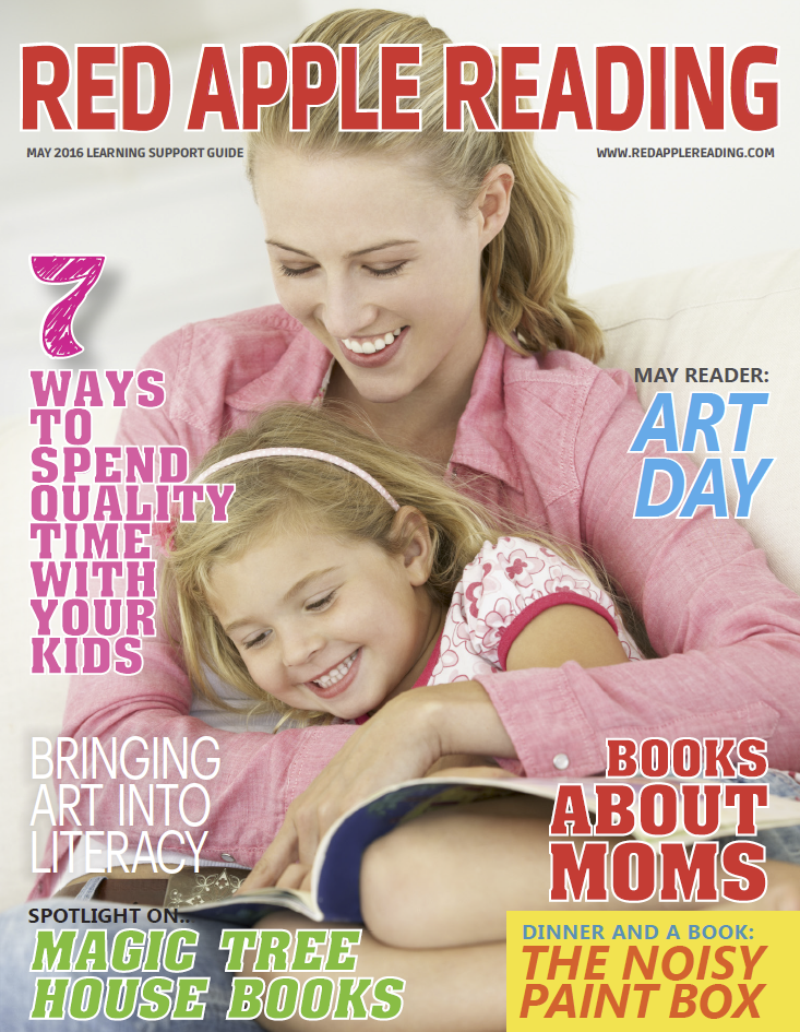 Red Apple Reading magazine - May 2016 edition