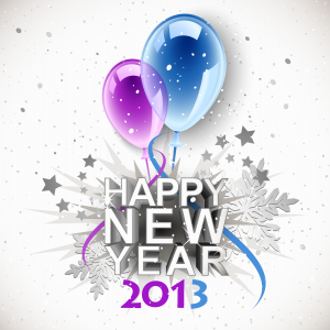 Happy New Year 2013 from Red Apple Reading