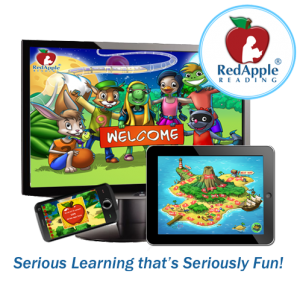 Red Apple Reading Website Image