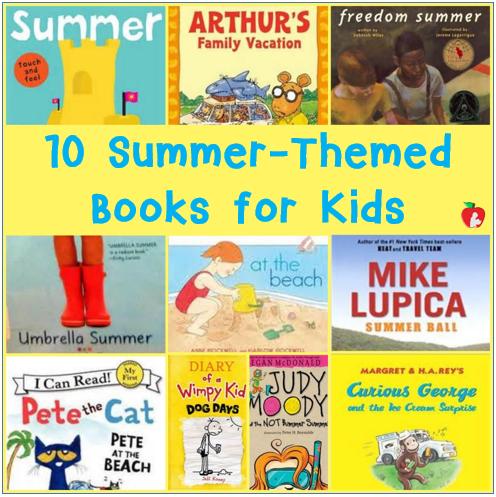 10 Summer Themed Books for Kids - Red Apple Reading
