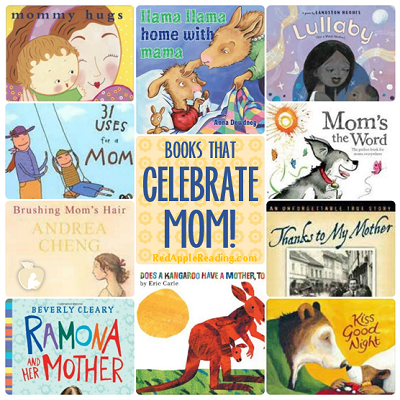 Books That Celebrate Mom | Red Apple Reading Express