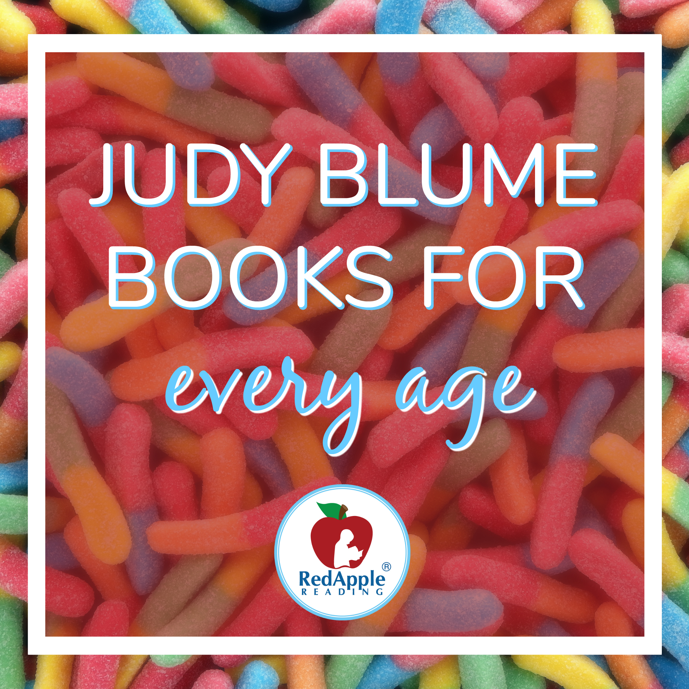Judy Blume Books for Every Age - Red Apple Reading